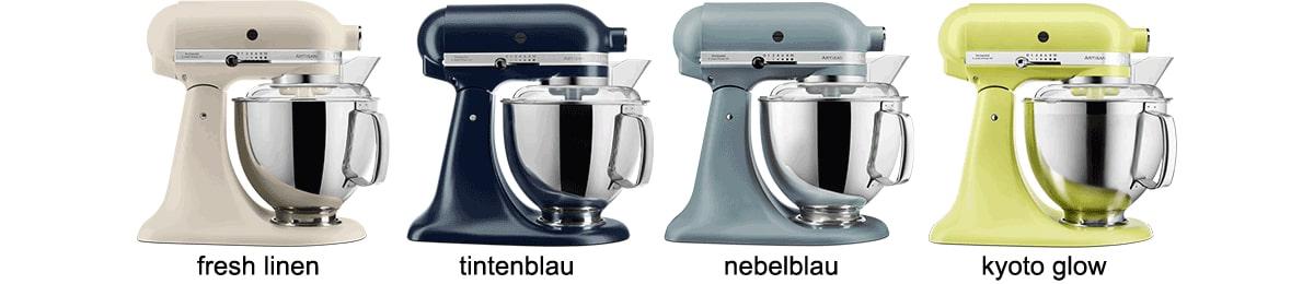 Neue Farben der KitchenAid 185