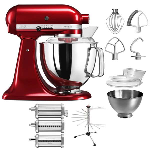 kitchen aid p19 pasta set 175er 5ksm175p kitchen aid. Black Bedroom Furniture Sets. Home Design Ideas